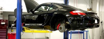 Porsche on Ramp
